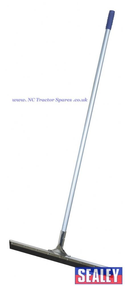 "Rubber Floor Squeegee 24""(600mm) with Aluminium Handle"
